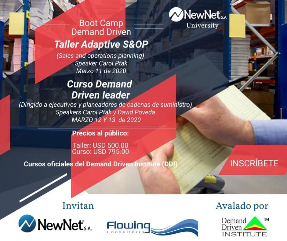 evento Demand Driven en Bogotá